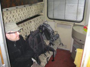 Es war erstmal sau kalt im Schlafzug - Nagyon hideg volt elöször amikor felszálltunk a vonatra