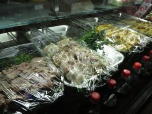 Mittagessen - Fleischspieße